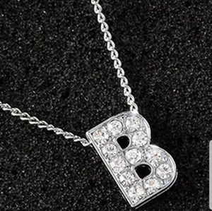 Letter 'B' necklace